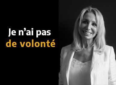 """""""Je n'ai pas de volonté """" en sortir grâce à l'EFT - Sarah Frachon"""