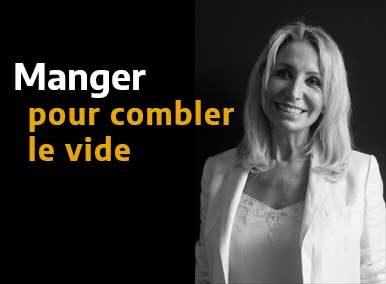 Manger pour combler le vide ? traité en EFT vidéo - Sarah Frachon
