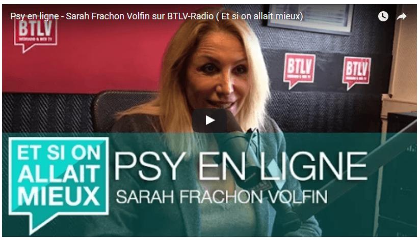Emission radio Sarah Frachon